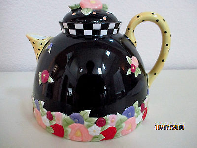Mary Engelbreit Teapot (Cottage Collection) Rare & Unique