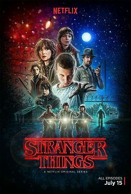 Poster Stranger Things 2 Winona Ryder David Harbour Serie Tv Season Locandina #6