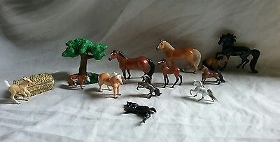 Lot of 12 Breyer Mini Whinnie Horses