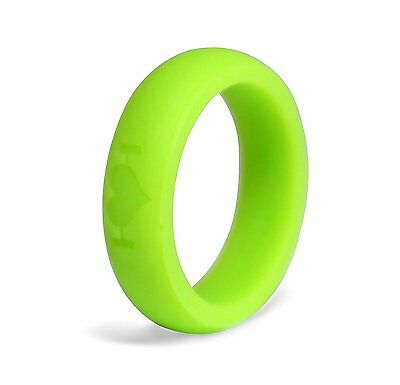 Military police 9mm HSP Thick Silicone wedding Ring rubber ring Crossfit