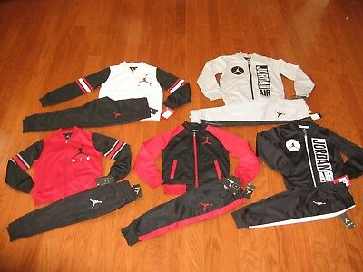 092650c128ac AIR JORDAN 2-PC. Jacket   Jogger Pants Outfit Set Boys 4 5 6 7 NWT ...