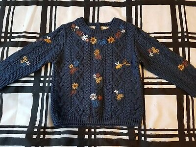 Girls Next Jumper 12-18 months New with tags