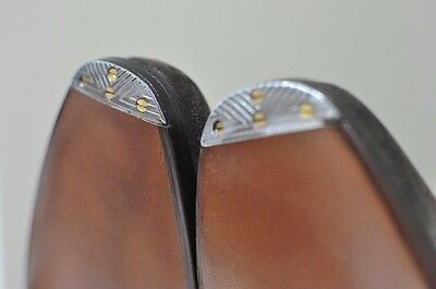 Flush Metal Toe Taps for Proper Quality Mens Dress Shoes Made in France tap