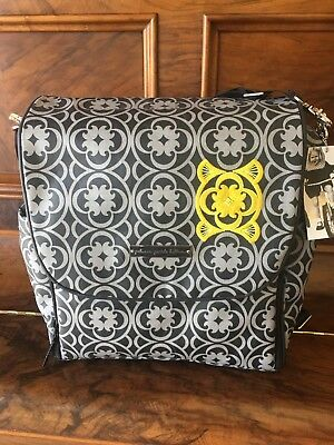 $189 Petunia Pickle Bottom Boxy Backpack Diaper Bag in Casbah Nights NWT