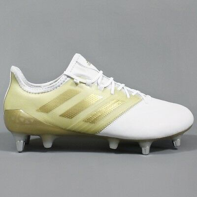 Adidas Kakari Light Soft Ground Rugby Boots White / Gold