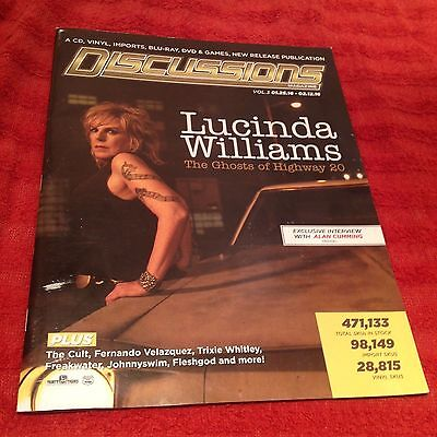 LUCINDA WILLIAMS Ghosts Highway 20 ALAN CUMMING INTERVIEW The Cult DAVID BOWIE