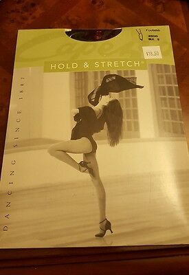 Capezio #N140 Hold and Stretch Black Footless Size Small ( Price for 2 )