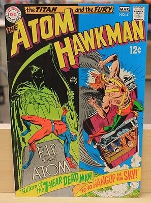 DC Comics The Atom & Hawkman The Titan and the Fury #70 F-VG
