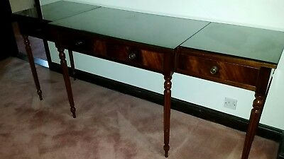 3 Draw Sideboard Glass Top