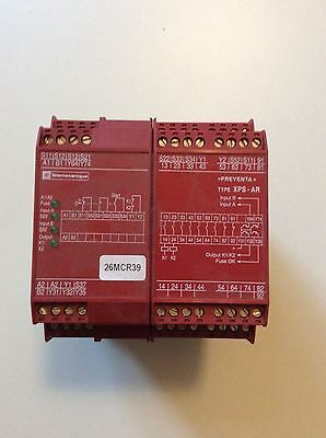 Telemecanique XPS-AR XPSAR311144P, 24V Safety Relay