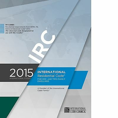 2015 International Residential Code (IRC) One and Two-Family (PDF on CD)