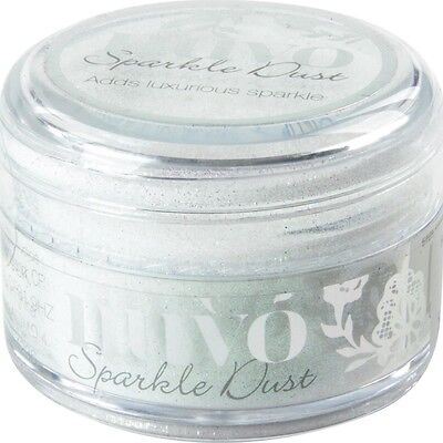 Nuvo Sparkle Dust .5oz - Snow Glow