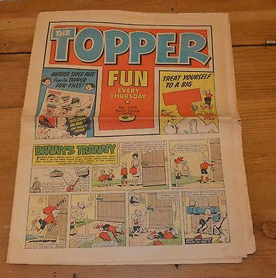 TOPPER COMIC 22nd May 1976.