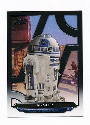 2017 Topps Star Wars Galactic Files Reborn Complete Master Set - 264 Cards
