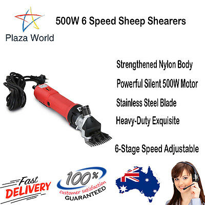 500W 6 Speed Sheep Shearers Strengthened Nylon Body Rohs Approved Clipper