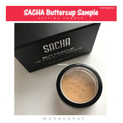 Sacha Buttercup Setting Powder Sample - Uk Seller