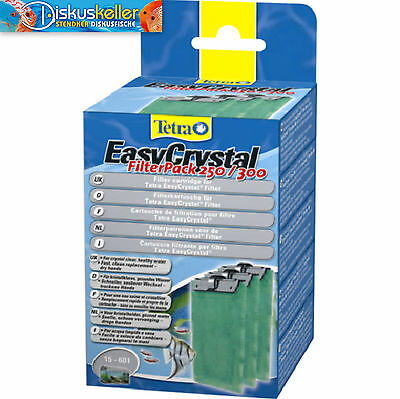 Tetra Tetratec EasyCrystal Filtre Pack 250 / 300 Marchandises neuves