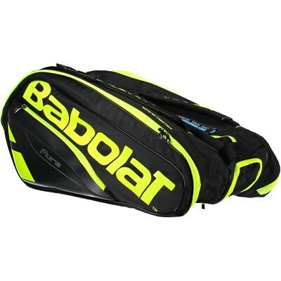 Babolat Racket Holder X 12 Pure One Size Black   Yellow   Fluor