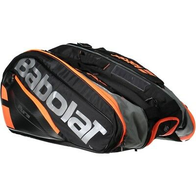 Babolat Racket Holder X 12 Pure One Size Black   Red   Fluor