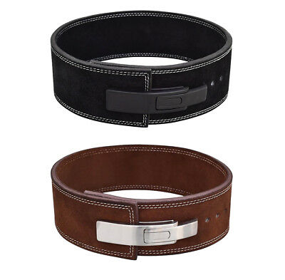 Weight Lifting Power Leather Lever Belt Gym Training Bodybuilding Power Belt