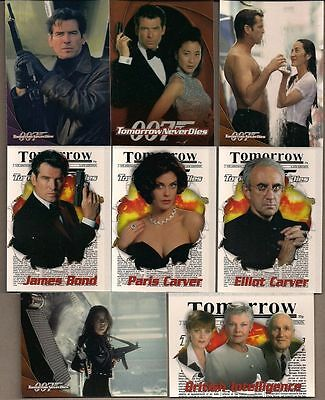 James Bond 007 Tomorrow Never Dies - Complete Card SET (1-90) 1997 @ Near Mint
