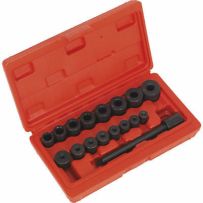 Sealey 17 Piece Universal Clutch Alignment Tool Kit