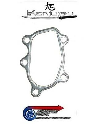 Kenjutsu All Metal 5 Bolt Turbo Elbow Gasket- For RPS13 180SX SR20DET Redtop