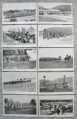 10 Indiantown Gap, PA ca. 1930's US Army Training Photo Postcards, Infantry etc.