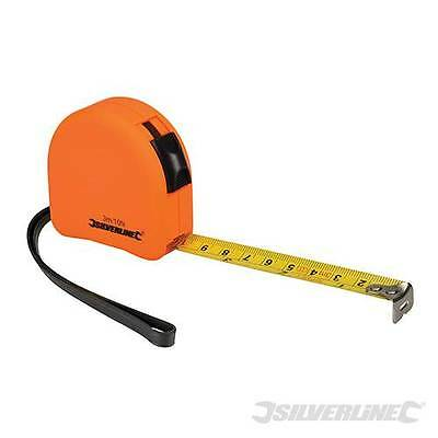 Hi-Vis Visibility Bright Coloured Contour Measuring Tape Steel metric &imperial