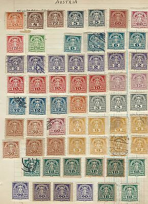 Austria - Fantastic Mint / Used Newspaper Stamps Collection / Study 170 Stamps