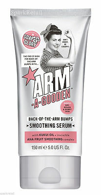 Soap and Glory ARM-A-GOODEN Back Of The Arms Bumps Arm Smoothing Serum 150ml