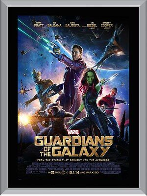 Guardians Of The Galaxy Movie A1 To A4 Size Poster Prints