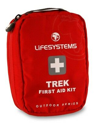 Lifesystems Trek First Aid Kit One Size Red