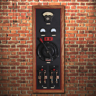 Vintage Electrical Display of Old Switches and Devices - Makes a Great Display!!