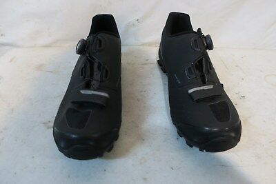 LOUIS GARNEAU ONYX cycling shoes - men's - size 42 - Blue