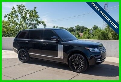 2015 Land Rover Range Rover 5.0L V8 Supercharged Autobiography 2015 5.0L V8 Supercharged Autobiography Used 5L V8 32V Automatic 4WD SUV Premium