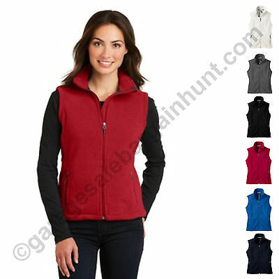 Port Authority Womens Fleece Vest Clothing Fall Winter XS-2XL 3XL 4XL Outdoors