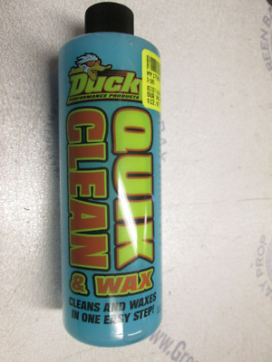 10024 Ducky Quik Clean & Wax 16 oz