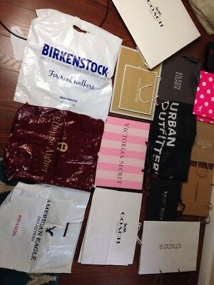 17 Shipping Bags Michael Kors Coach PINK BIirkenstock And More