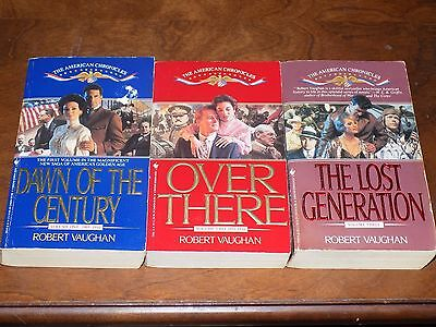#1-3 The American Chronicles by Robert Vaughan - paperback