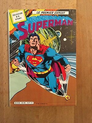 SUPERMAN - Le premier exploit - Sagédition - 1985 - NEUF
