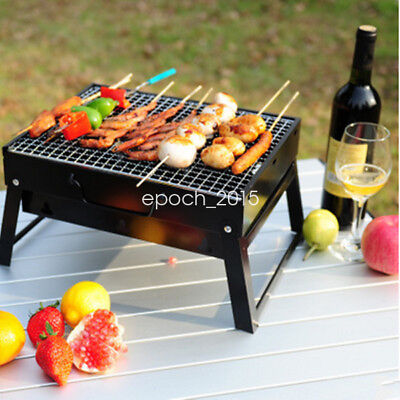 3-5 Persons Small BBQ Stove Outdoor Camping Picnic Charcoal Grill Barbecue Pits