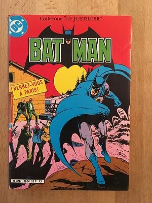 BATMAN - Sagédition - 1982- NEUF