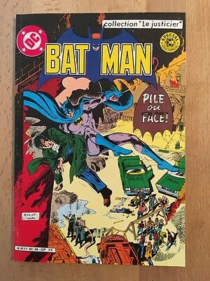 BATMAN - Pile ou face - Sagédition - 1983 - NEUF