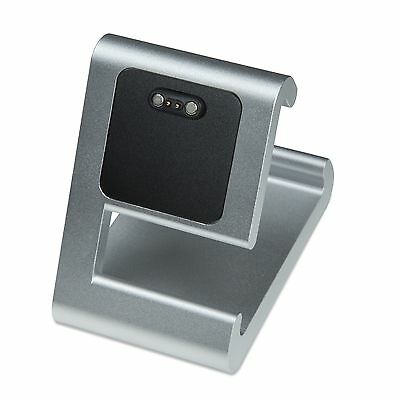 TimeDock SILVER Charging Dock for Pebble Time, Time Round, Time Steel, Pebble 2