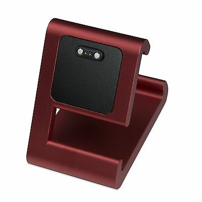 TimeDock RED Charging Dock for Pebble Time, Time Round, Time Steel, Pebble 2