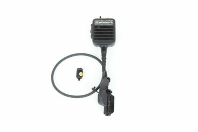 Motorola XTS3000 XTS5000 Public Safety Mic NMN6251A w/RF Adapter NTN8327A (NEW)