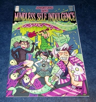 ADVENTURES into MINDLESS SELF INDULGENCE #1 variant 2nd print iMAGE Jimmy Urine