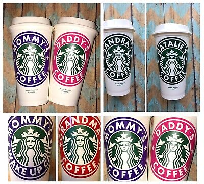 Personalized Starbucks Cup Add Name Or Saying! FREE SHIPPING!!