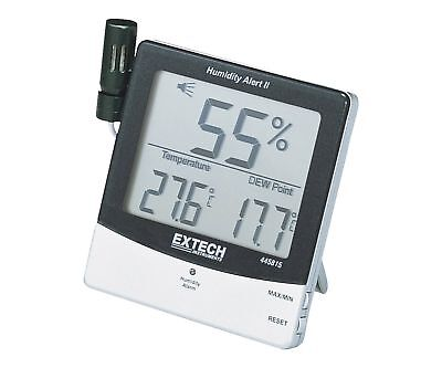 Extech 445815 Humidity Meter with Alarm and Remote Probe With Remote Probe NEW